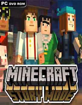 Minecraft Story Mode EP1-2 Cracked