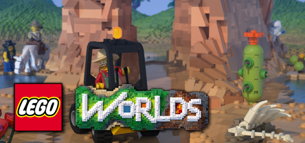 LEGO Worlds Cover PC