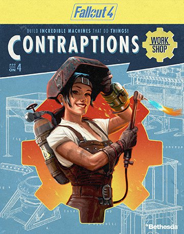 Fallout 4 Contraptions Workshop DLC-CODEX