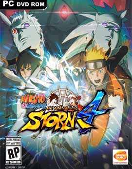 NARUTO SHIPPUDEN Ultimate Ninja STORM 4-Black Box