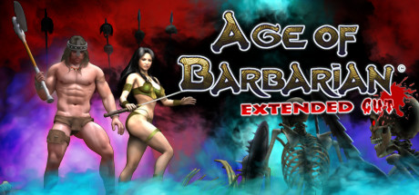 Age of Barbarian Extended Cut Cover PC