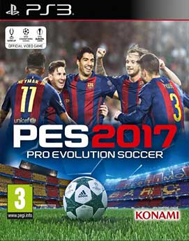 Pro Evolution Soccer 2017 PS3-DUPLEX