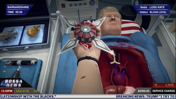 Surgeon Simulator Anniversary Edition Inside Donald Trump