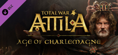 Total War ATTILA Age of Charlemagne Campaign Pack Cover
