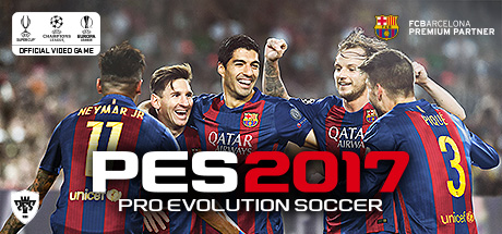 Pro Evolution Soccer 2017 Cover PC
