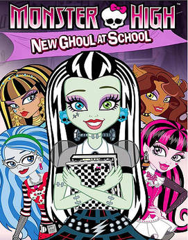 Monster High New Ghoul in School-PLAZA