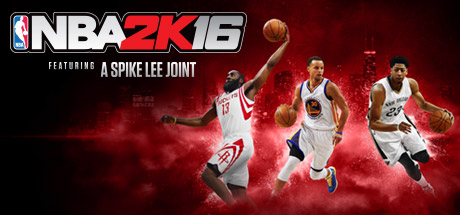 NBA 2K16 Cover wide