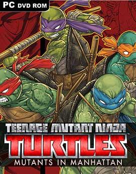 Teenage Mutant Ninja Turtles Mutants in Manhattan-CODEX