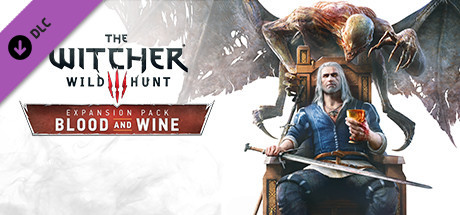 The Witcher 3 Wild Hunt Blood and Wine Cover PC